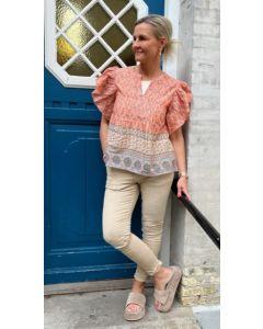 continue Beth stripe dress